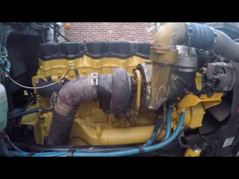 #7. Первый запуск Двигателя Катерпиллер 3406Е / С15 после Кап-ремонта. First start of Caterpillar.