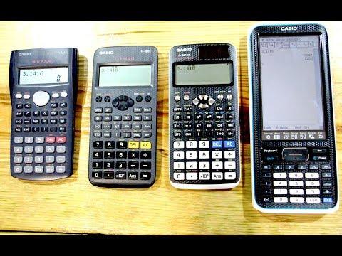 Unboxing varias Calculadoras Casio: Fx-82 EX, Fx - 991 EX , ClassPad II