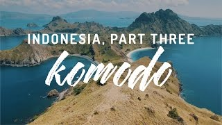 Komodo island Flores Indonesia Video