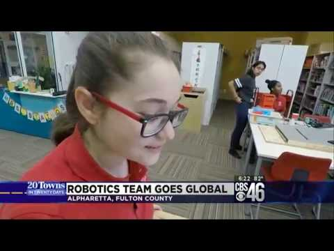 Fulton Science Academy Robotics Team Goes Global