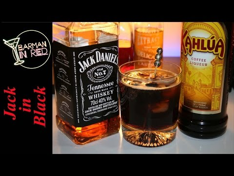 Video Cocteles Fáciles con Whiskey Jack Daniels - BLACK IN JACK COCKTAIL