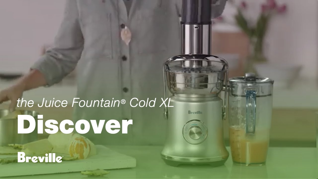 the Breville Juice Fountain® Cold XL