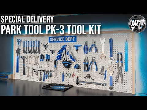 Park Tool Special Delivery & New Workshop Setup!