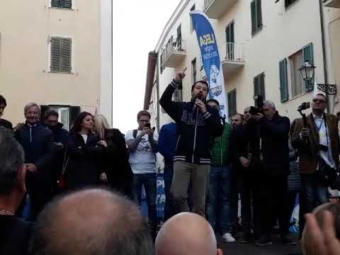 "Matteo Salvini: ""In Toscana serve meno burocrazia"""