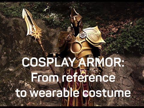 Cosplay armor: From reference to wearable costume