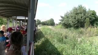 preview picture of video 'Przejażdżka kolejką wąskotorową Ełk Sypitki na Mazurach'