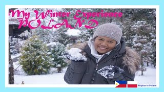 My First Winter (Snow) Experience 2018| Filipina in Poland  | Vlog #12