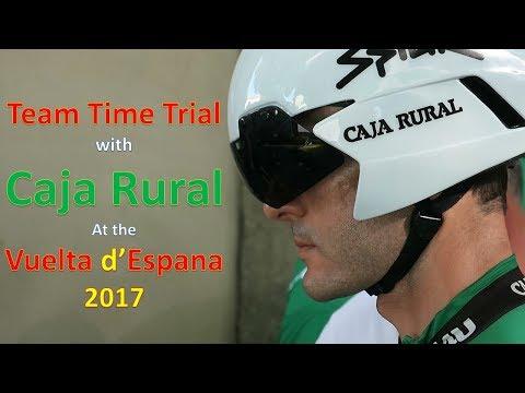Caja Rural en de ploegentijdrit in de Vuelta: Een kijkje achter de schermen