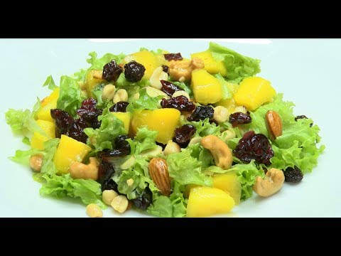 Como Preparar Ensalada Mixta con Frutos Secos- HogarTv por Juan Gonzalo Angel