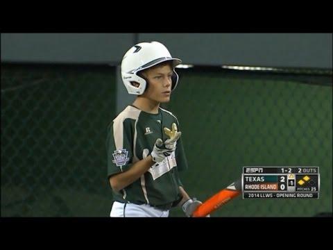 LLWS 2014 Texas baseball - Bad umpire call!