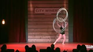 Hula Hoop Act at Wasabassco