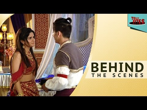 Behind the scenes From the sets of Aladdin Naam Toh Suna Hoga