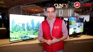 CES 2017  4K Ultra HD телевизоры Sony A1 OLED, XE94 LED и XE93 LED