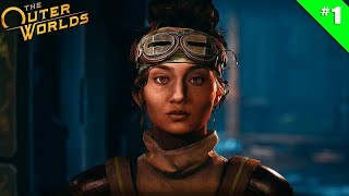 The Outer Worlds - Ep 1 - Bienvenue à Edgewater ! - Let's Play FR HD