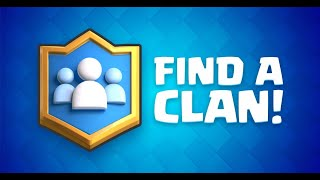 How to find an active clan in CLASH ROYALE!