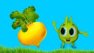 Рома и Хелпик попали в сказку Репка Сказка для детей kids children