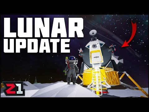 Astroneer Lunar UPDATE ! Finding the LEM and Unlocking the NEW Skin! | Z1 Gaming