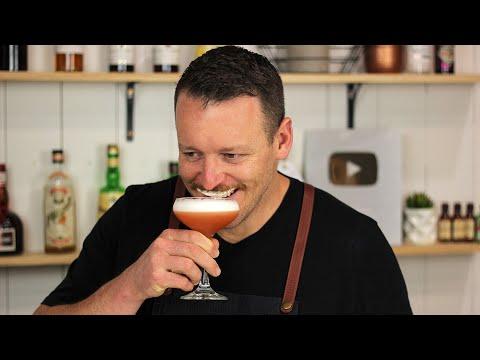 RUBY COCKTAIL – Vodka Aperol and Elderflower Liqueur