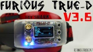 FURIOUS FPV TRUE-D V3.6 Diversity Receiver - Install & Setup For FatShark Attitude V4 Goggles