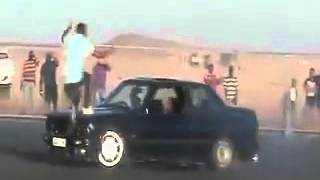 BMW 325is Gusheshe spinning gone wrong   watch to the end