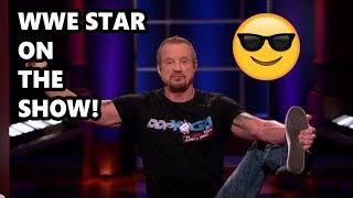 Shark Tank WWE Star On Shark Tank And Sharks Are Amazed! Shark Tank Showcase