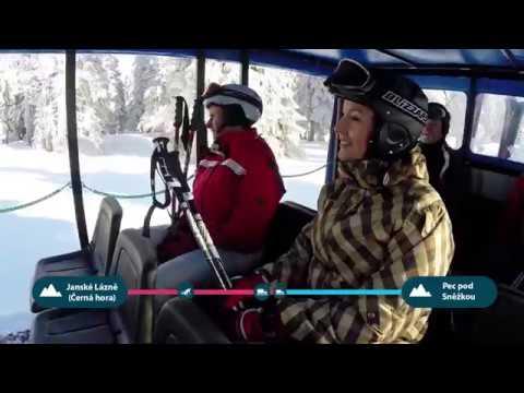 SkiTour - na lyžiach a ratrakom pomedzi areálmi - ©SkiResort ČERNÁ HORA - PEC