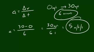 Physics Lecture - 2 - Acceleration