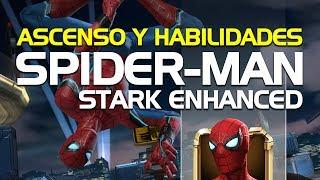 Spider Man Stark Enhanced, Ascenso y Habilidades | Marvel Batalla de Superhéroes