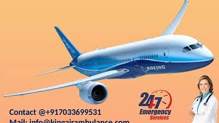 Book Quick Air Ambulance from Bokaro and Jamshedpur to Delhi by King Air
