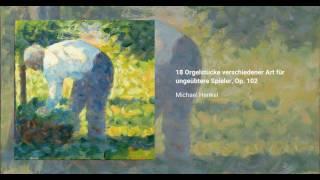 18 Orgelstücke verschiedener Art für ungeübtere Spieler, Op. 102