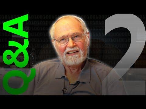 Brian Kernighan Q&A 2/3 – Computerphile