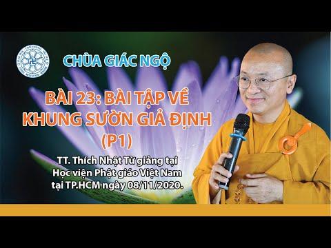 Bài tập về khung sườn giả định - Phương pháp nghiên cứu Phật học
