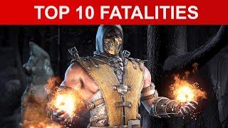 Mortal Kombat X Top 10 Brutal Fatalities- MKX Fatality [1080p HD]