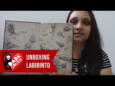 Unboxing do Livro Labirinto - Dark Side Books #elefanteconferiu