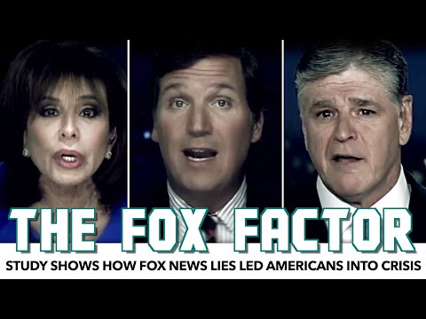 Study Shows How Fox News Lies Led Americans Into Crisis