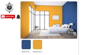Asian Paints Colour Interior Combinations Blue