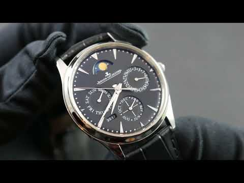 Jaeger-LeCoultre Master Ultra Thin Perpetual 1308407 Showcase Review