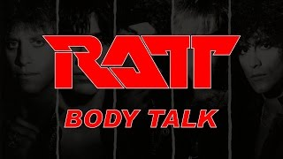 Ratt - Body Talk (Lyrics) Official Remaster Hard Rock & Heavy Metal