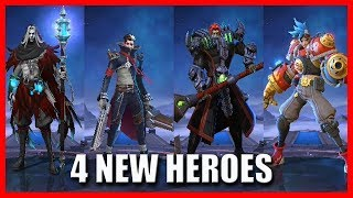 4 NEW HEROES COMING IN THE ORIGINAL SERVER - MOBILE LEGENDS