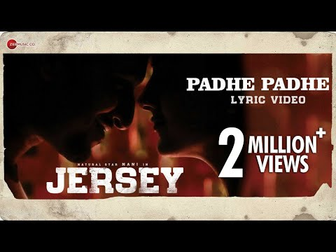 Download Padhe Padhe - Lyrical | Jersey | Nani, Shraddha Srinath | Anirudh Ravichander HD Mp4 3GP Video and MP3