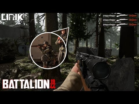 Battalion 1944 - WORLD'S BEST SNIPER!!