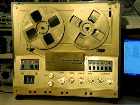reel tape recorder Магнитофон АСТРА-111 -моддинг!