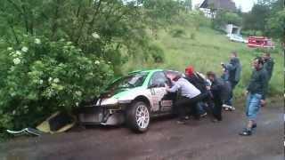 preview picture of video '27 Rajd Karkonoski 2012 Ptaszek/Leśniak .dzwon os Lubomierz'