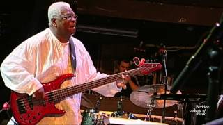 "Abraham Laboriel Sr., ""Listen to Your Brother"" - live at Berklee"