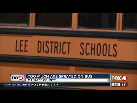 Students evacuated from Florida school bus after someone sprayed too much Axe body spray