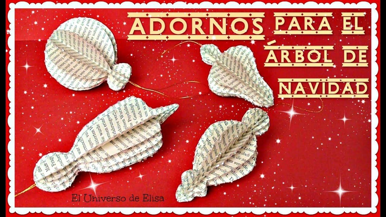 Decora tu Árbol de Navidad, Cómo hacer Adornos para el Árbol de Navidad