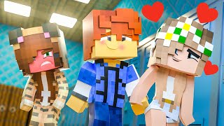 New Girl FLIRTS With ME !? || Minecraft Daycare Academy