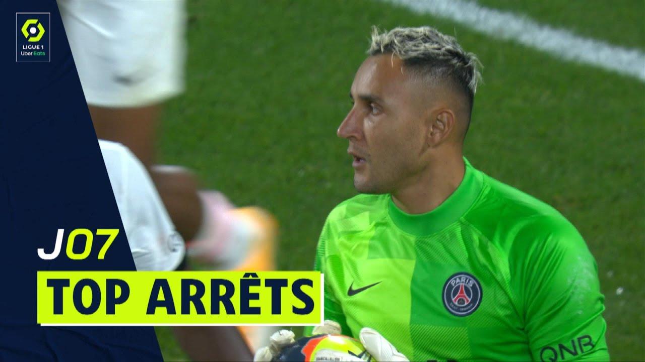 Top arrêts 7ème journée - Ligue 1 Uber Eats / 2021-2022