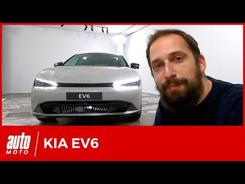 Kia EV6 : découverte du crossover électrique