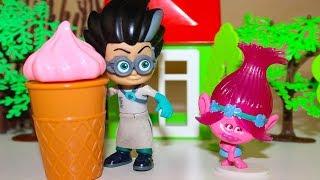 Мультики про игрушки Щенячий патруль и Троли Мороженое Розочки Мультфильмы для детей